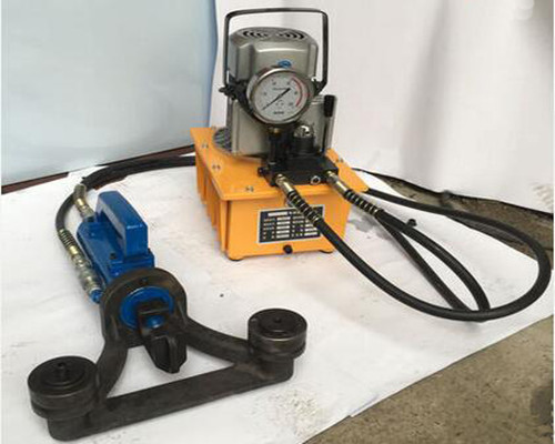 BR-25w Hydraulic portable bar bender and straightener