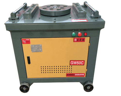 GW50 Manual round bar bend machine for sale