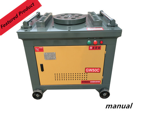 GW50 Manual bender for rebar