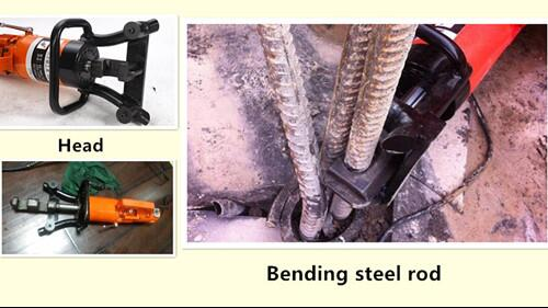 RB25 Portable rebar bender and straightener