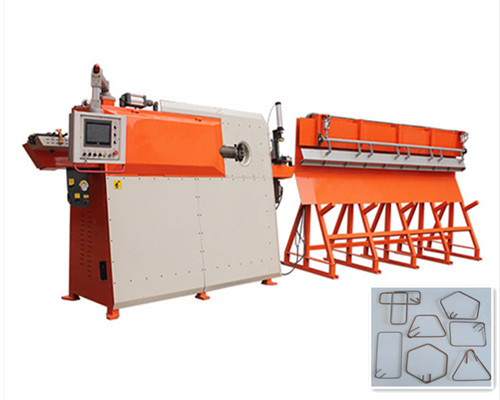 HGTW4-12 CNC wire straightening&bending&cutting machine